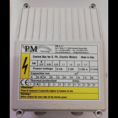 Indító doboz - PM C BOX - 0,55kW - búvárszivattyúhoz